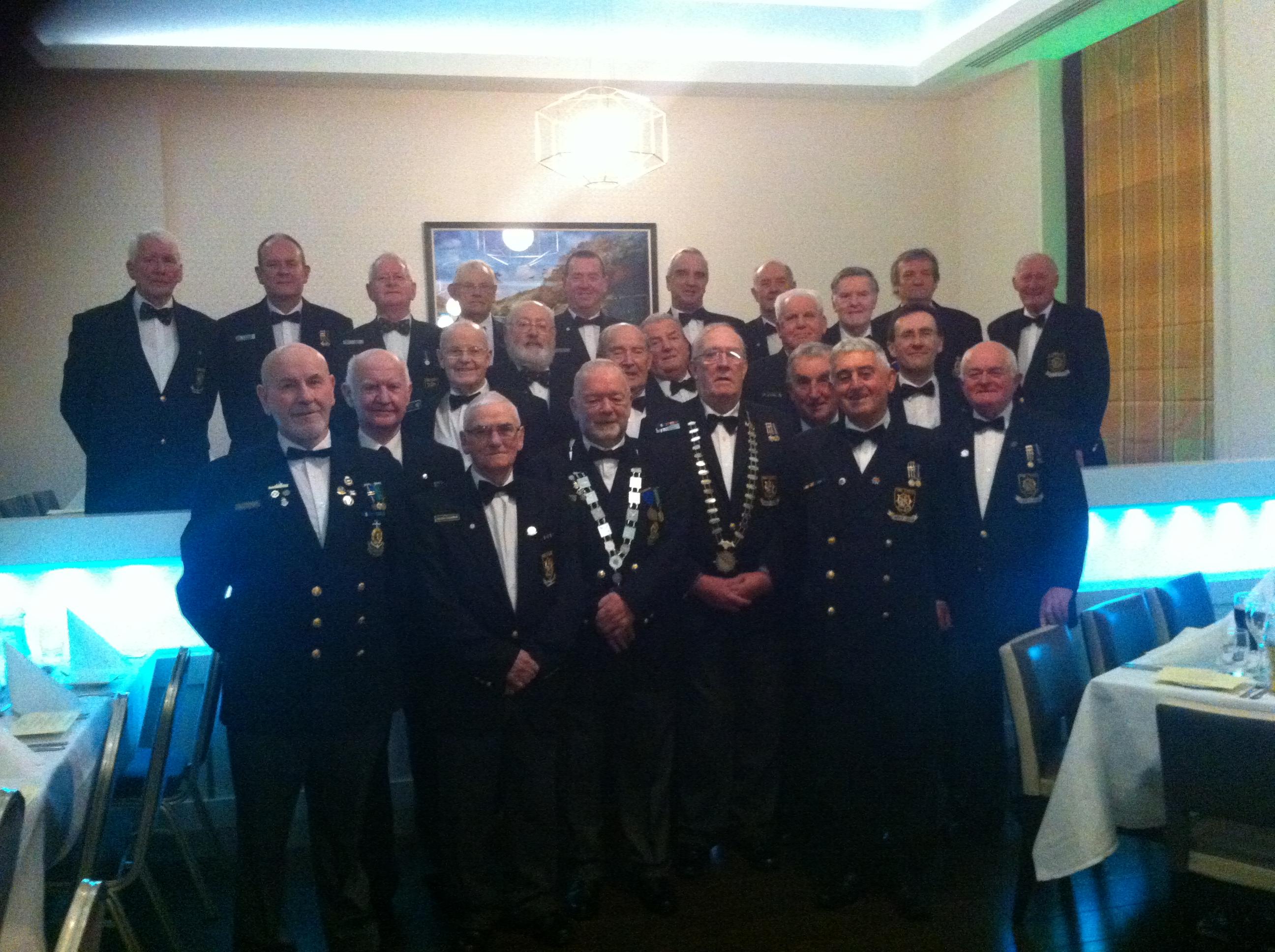 Irish Naval Association Annual Gala Dinner Fitzwilton Hotel Waterford November 2016